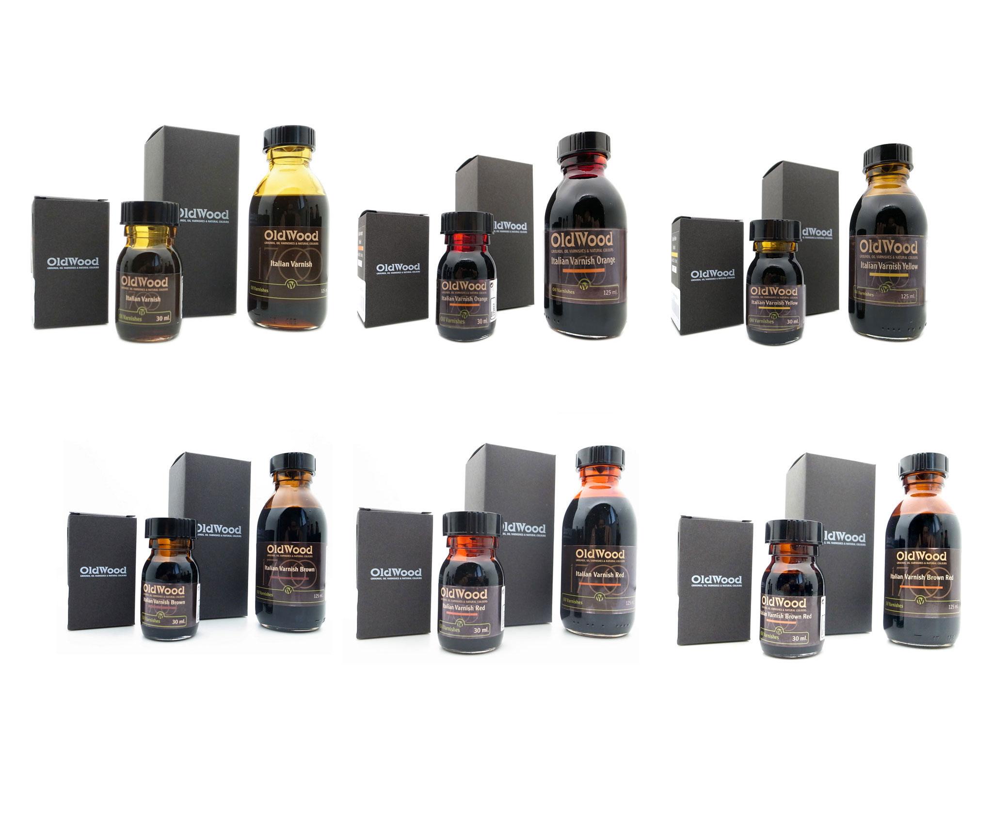 OldWood 意大利油性漆 多色可选送稀释剂